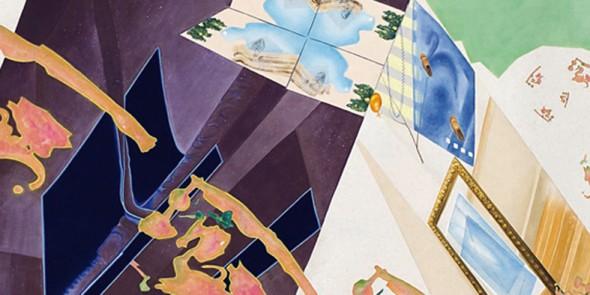 Ausstellung Segeltuchbilder, Galerie in der Lände Kressbronn