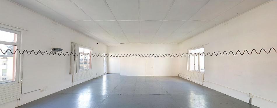Installation Wellenkreis in Lugano